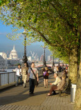 April on the Thames