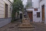 Cordoba, the Juderia, Rabi Maymon statue