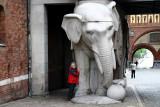 Ann with Her Elephant