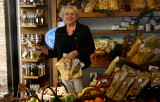 Ann at the Greengrocer