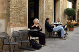 Ann in Montepulciano