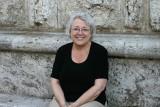 Ann at Piazza Grande