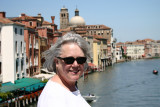 Ann on the Grand Canal