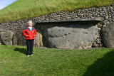 Ann at Newgrange