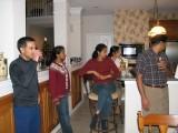 Hanging around the kitchen