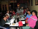 Lisa's birthday dinner at the Tamarind restaurant
