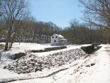 Lander Lock winterscape
