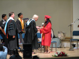 Jeffy receives her diploma