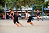Exercising at Ipanema