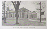 Duxbury Library at Dedication - 1909