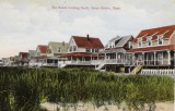 The Beach Looking South - Postmark 1928