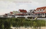 The Beach Looking South - Postmark 1928
