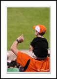 Die-hard Orioles Fan
