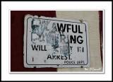 Unlawful loitering will result in arrest – Police Dept.