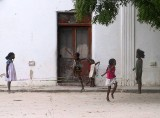 Mozambique -- playing jump rope