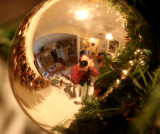 Reflection in Christmas Ball