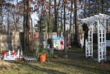 Back yard decorations