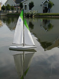 RC Sailboat ReflectionJuly 3, 2007