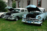 A pair of 1954 Chevys