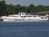 Ships and Boats on the Dnepr River