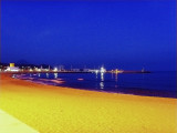 The Beach of my Village at the Evening