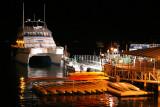 USA_ME_Bar Harbor quai de nuit