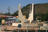 Monument in downtown Axum