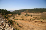 Scenery near the tombs of Kaleb and Gebre Meskel