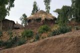 Typical Lalibela house construction