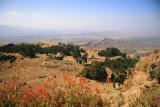 Stunning scenery on the trail from Lalibela to Asheton Maryam