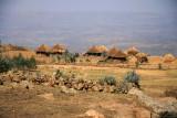 A plateau halfway between Lalibela and Asheton Maryam houses a small village.