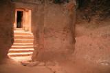 Entrance to Bet Giorgis