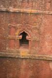 Carved window, Bet Giorgis