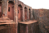 Bet Gebriel-Rafael in the southeastern cluster of churches in Lalibela