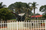 A monument in Entebbe