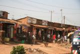 Roadside shops between Entebbe and Kampala