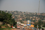 The outskirts of Kampala, Uganda's capital.