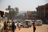 Kampala's streets were full of activity.