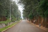 Pristine Kigali streets
