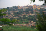 The City of Kigali, as seen from the Memorial Center.