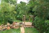 Meditation garden at the Kigali Memorial Center
