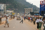 Busy Kigali streets