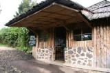 Entrance of the Volcanoes Mt. Gahinga Lodge
