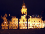 Cape Town's City Hall at night