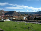 Cusco and its surrounding mountains