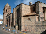 Cathedral in the Plaza de Armas in Cusco