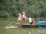 Fishermen on the Amazon