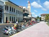 Motorbikes in Iquitos