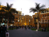 Government buildings in the Plaza de Armas