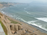 The Pacific Ocean from Lima
